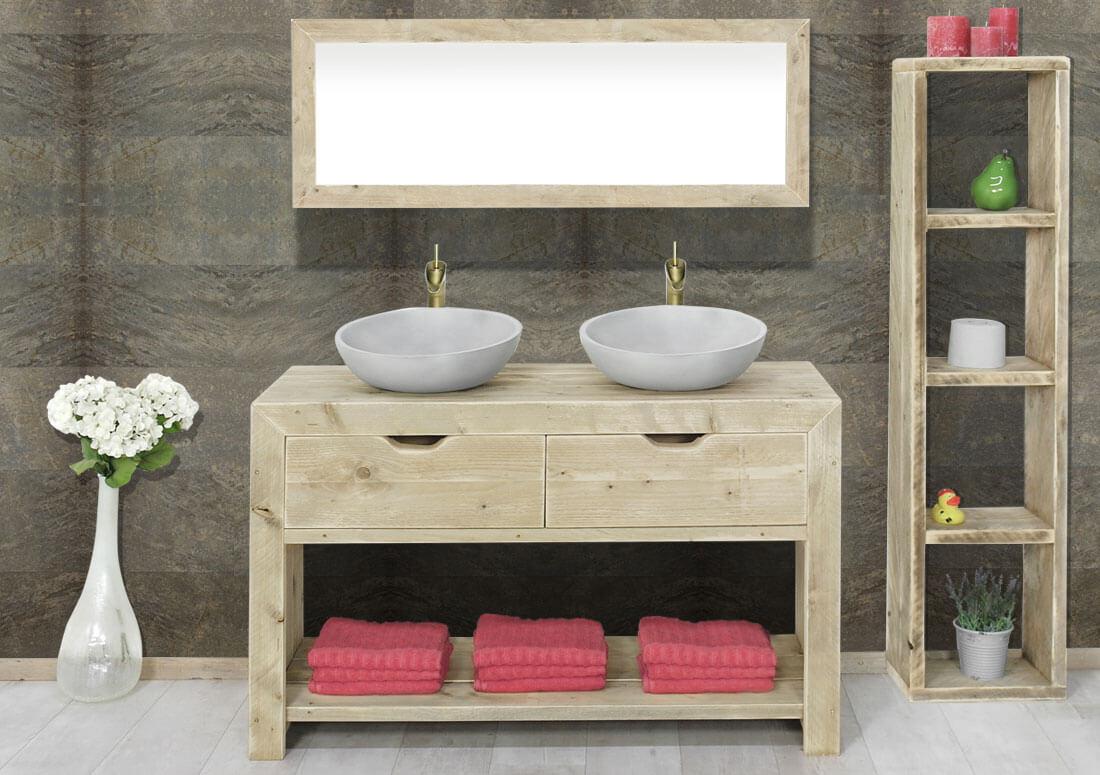 steigerhouten badkamermeubel judson � steigerhouttrend