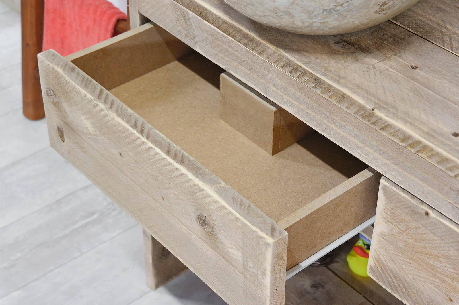 Steigerhouten badkamer meubel Fallon – SteigerhoutTrend
