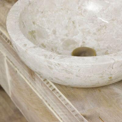 Steigerhouten badkamermeubel Fallon