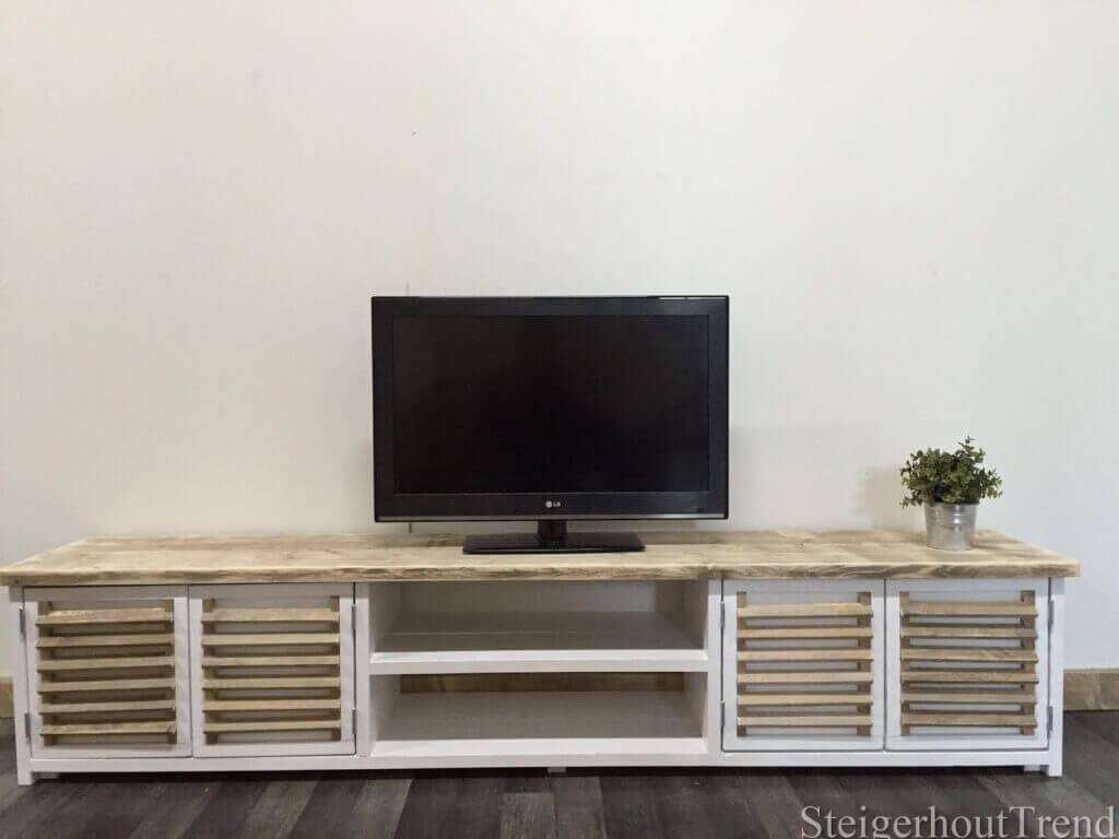 Steigerhouten TV meubel Winona  u2013 SteigerhoutTrend
