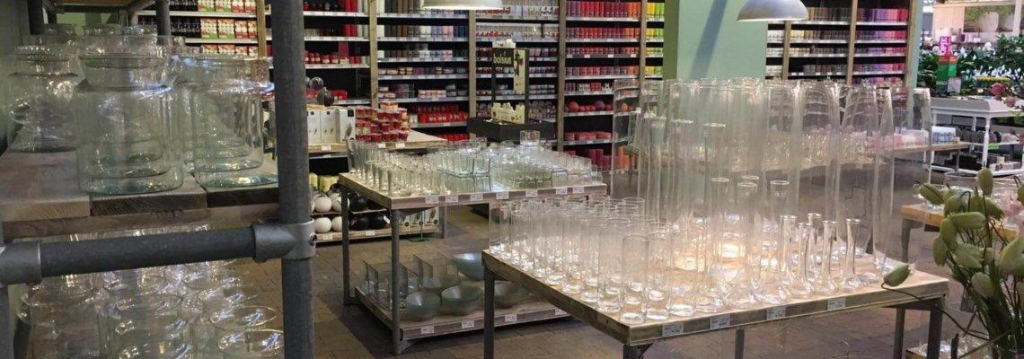 Steigerhouten winkel inrichting Tuinland