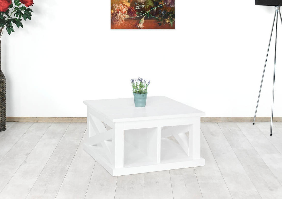 Steigerhouten salontafel Moira