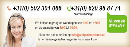 SteigerhoutTrend uit Groningen is de fabrikant op het gebied van (maatwerk) steigerhouten meubelen