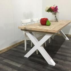 Steigerhouten tafel Haskell