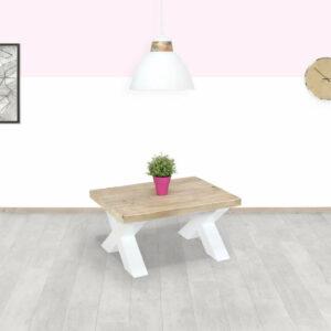 Steigerhouten salontafel Morton