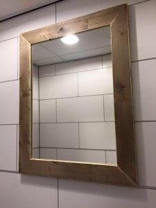 spiegel steigerhout met lijst