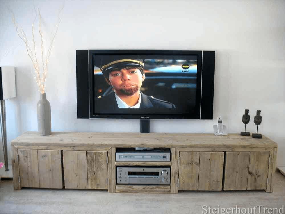 steigerhouten tv meubel yosemite steigerhouttrend