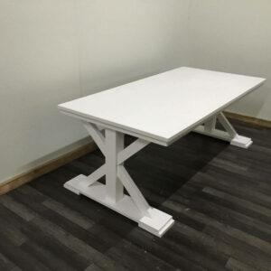 Steigerhouten tafel Elkins