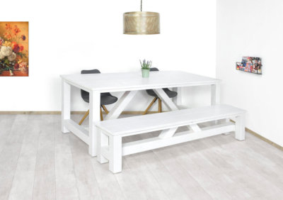 Steigerhout tafel Kenee