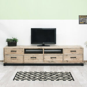 Steigerhouten TV meubel Hollis