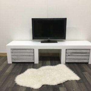 Steigerhouten TV meubel Maine