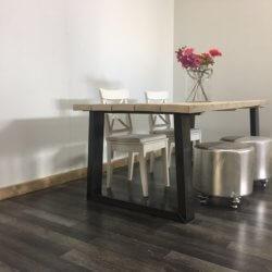 Steigerhouten tafel Libby