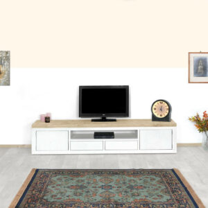 Steigerhouten TV meubel Hulen