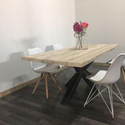 Steigerhouten tafel Duncor