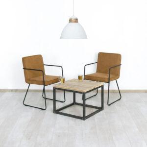 Steigerhouten salontafel Tustin