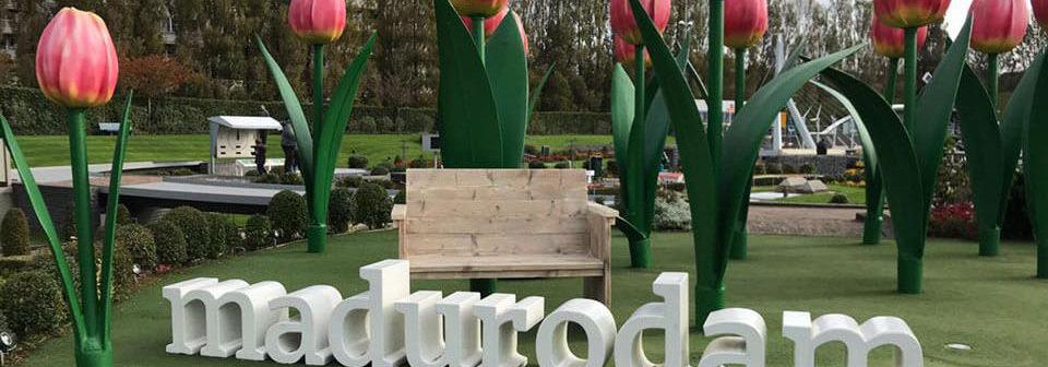 Tuinbanken Madurodam Steigerhouttrend LoodsXL