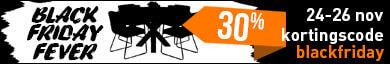 Black Friday Kortings Actie op Steigerhouttrend