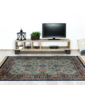 Steigerhouten industriele TV meubel Rova