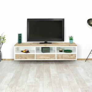 Steigerhouten TV meubel Edon