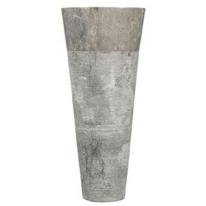 Natuurstenen wastafel grijs marmer
