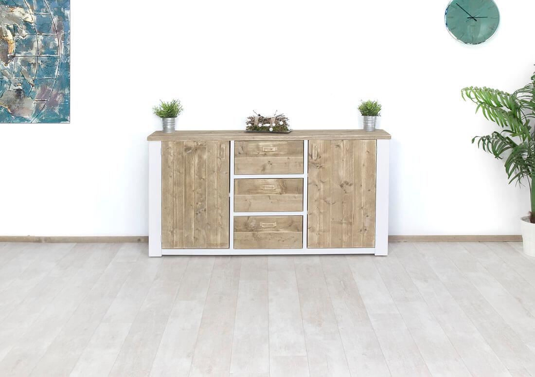 Steigerhouten dressoir Rulo