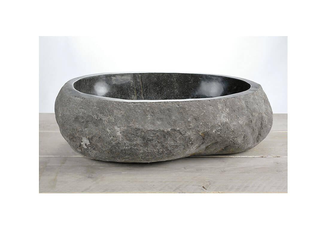 Natuurstenen waskom | W18-022 | 52 x 38 x 1,5