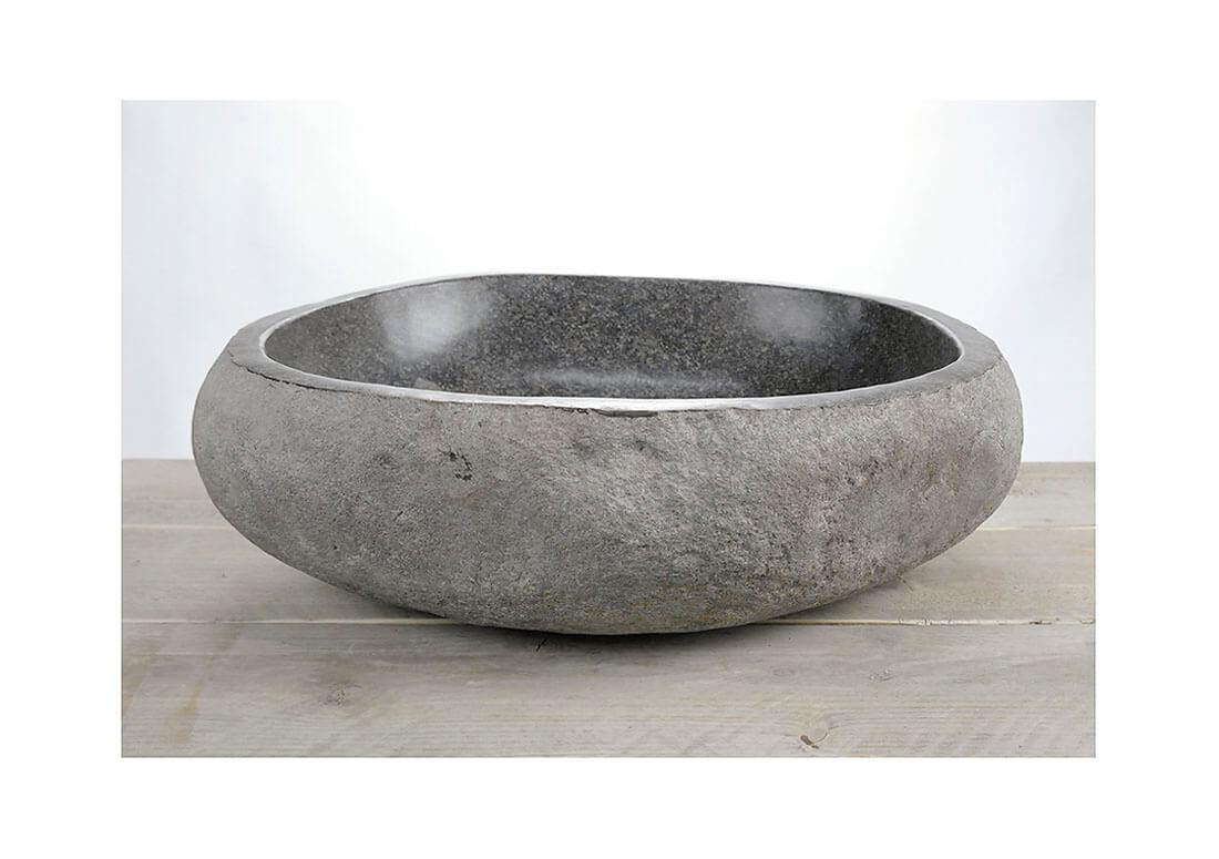 Natuurstenen waskom | W18-023 | 48,5 x 40 x 1,5
