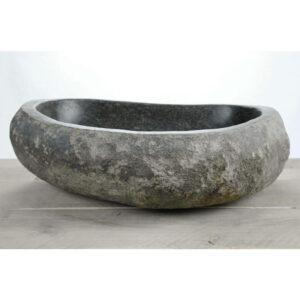 Natuurstenen waskom   W18-031   48,5 x 41 x 15
