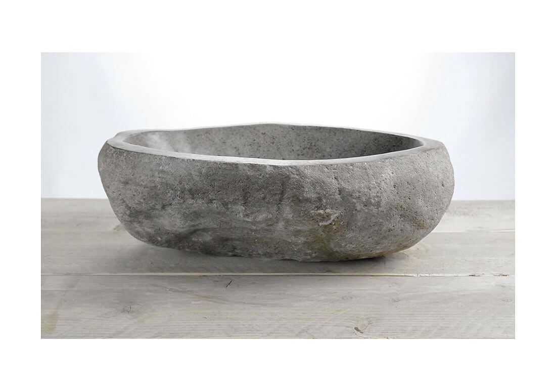 Natuurstenen waskom | W18-036 | 42 x 31,5 x 14,5