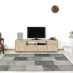 Steigerhouten TV meubel Adin