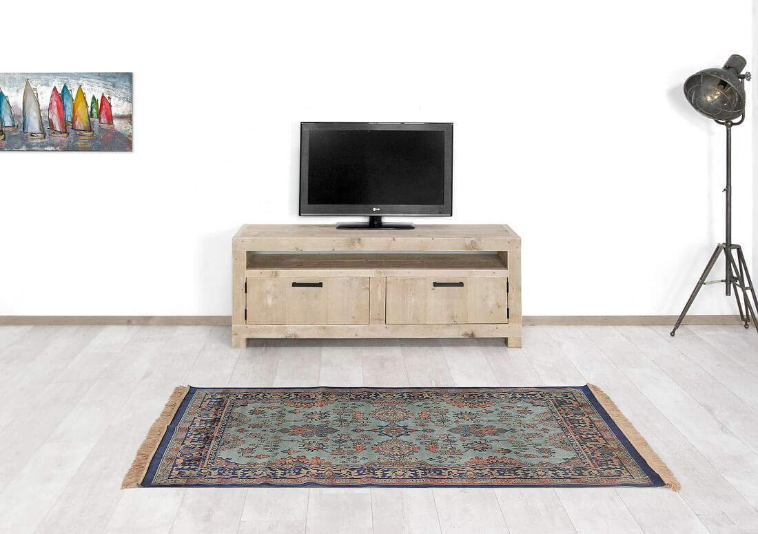 Steigerhouten TV meubel Kelsa