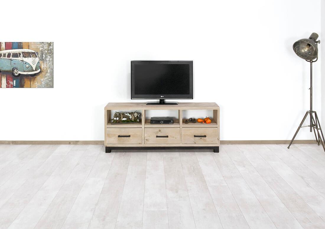 Steigerhouten TV meubel Kings