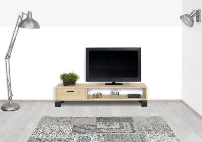 Eikenhouten TV meubel Chama