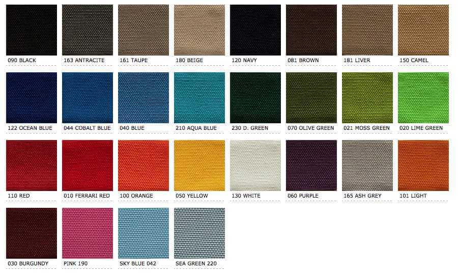 unproof-kussens kleurstal voor tuinmeubelen