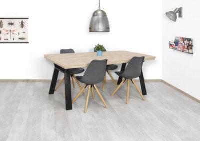 Steigerhouten tafel Ladd