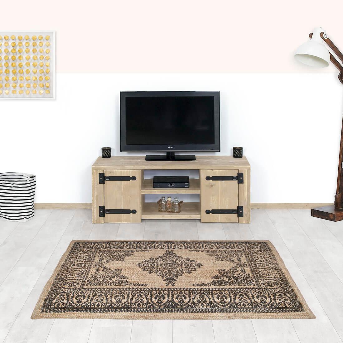 Steigerhouten TV meubel Alvy