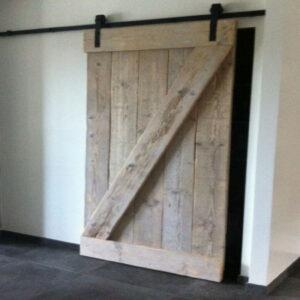 Steigerhouten Loft deur