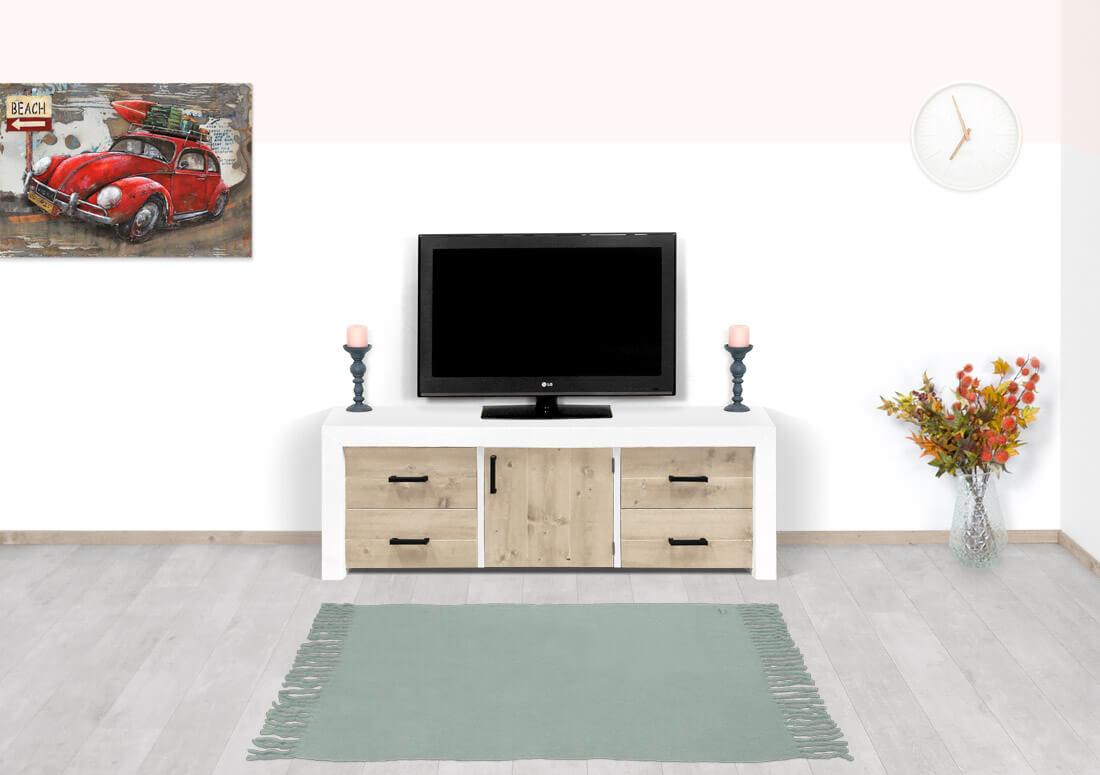 Steigerhouten TV meubel Anson