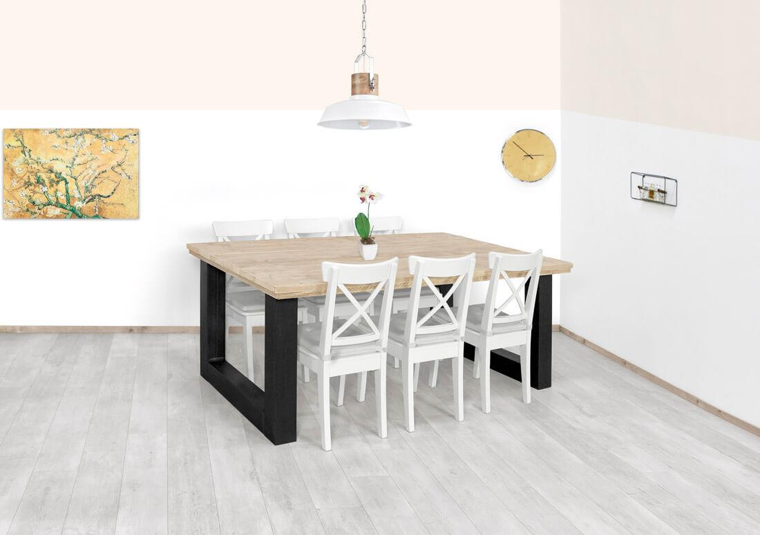 Steigerhouten tafel Ucon