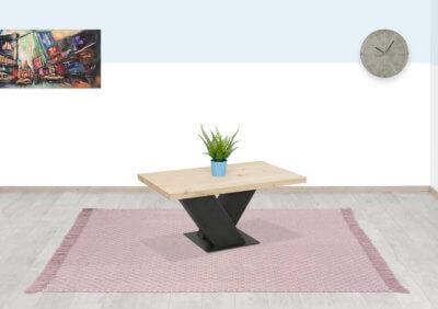 Eikenhouten salontafel