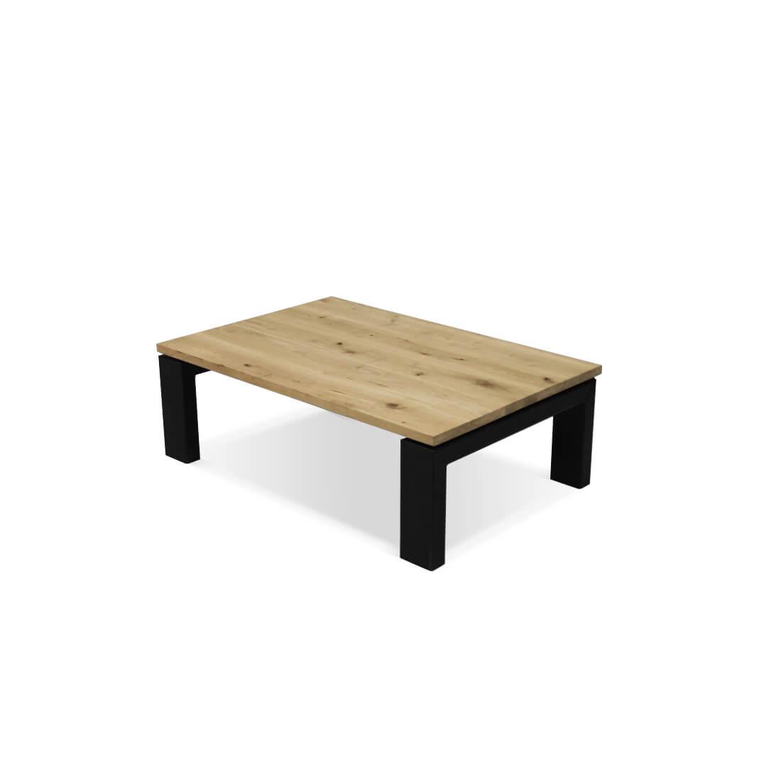 Eikenhouten salontafel Cortez