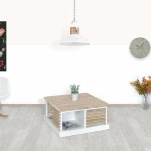 Steigerhouten salontafel Rosewel