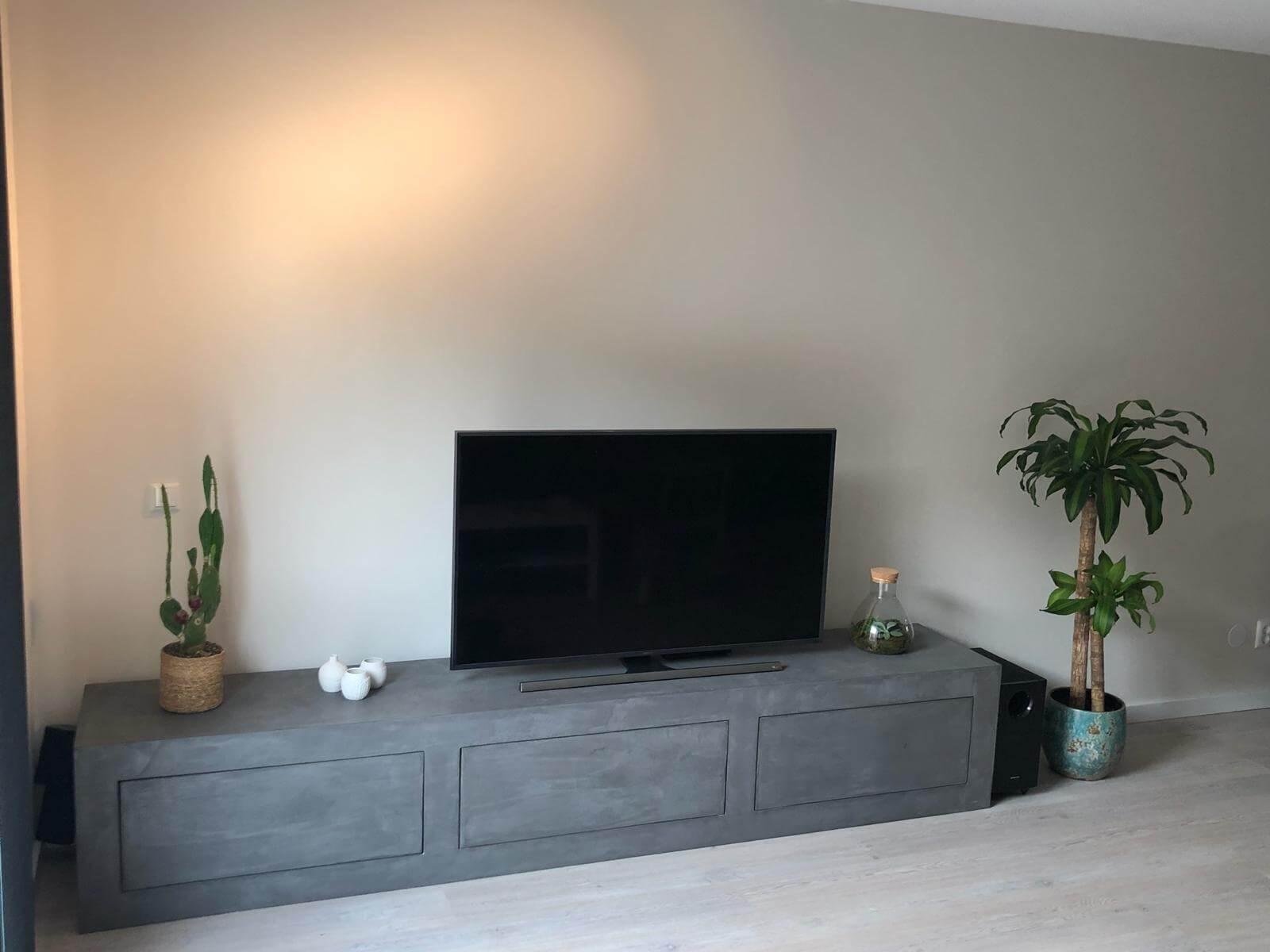 Betonlook TV meubel Barco