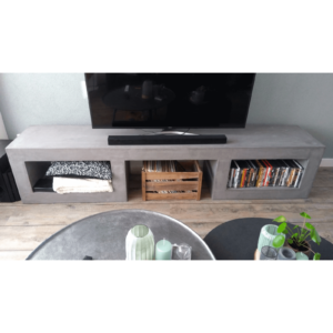 Betonlook TV meubel Ector