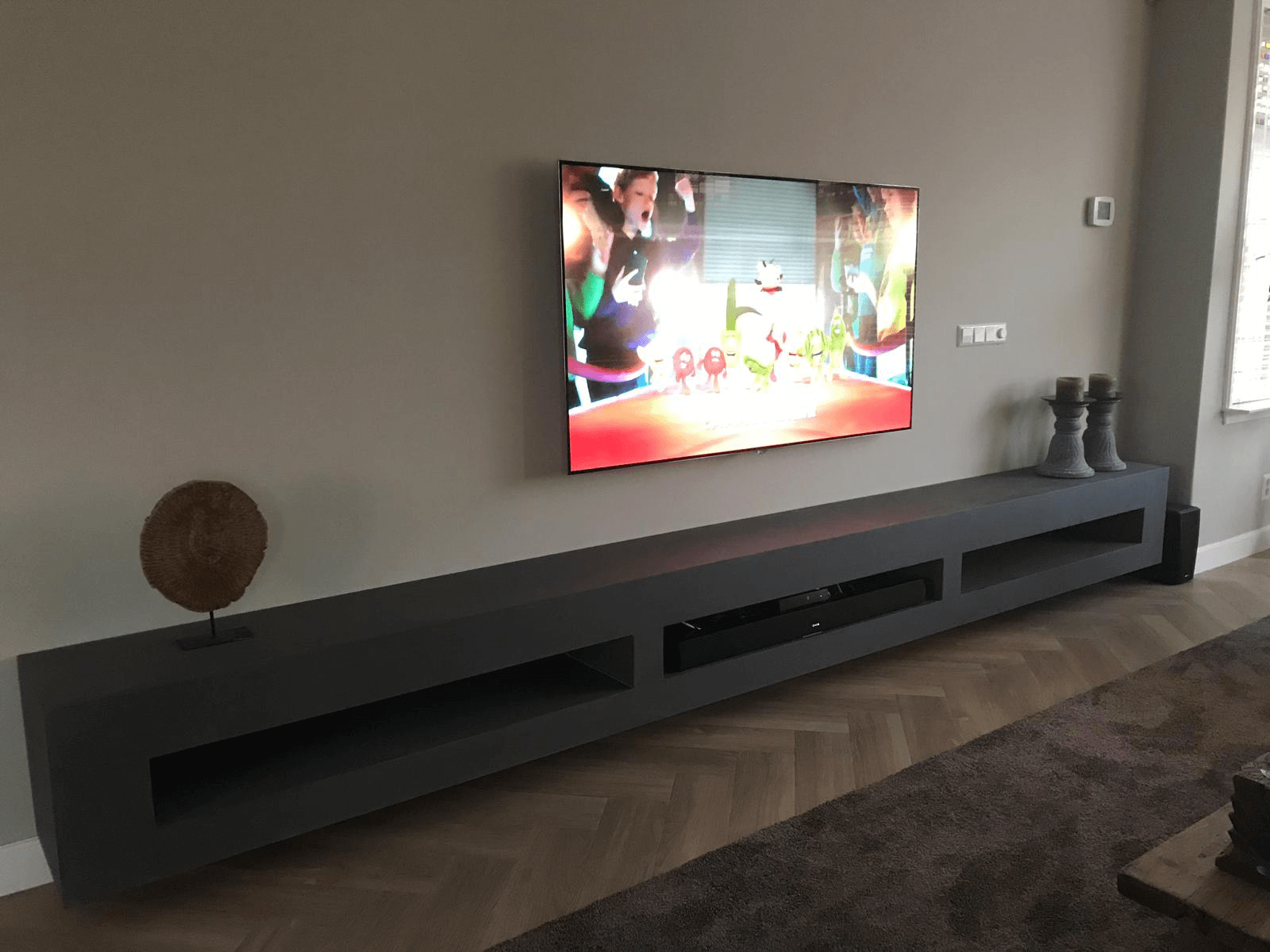 Betonlook TV meubel Catlin