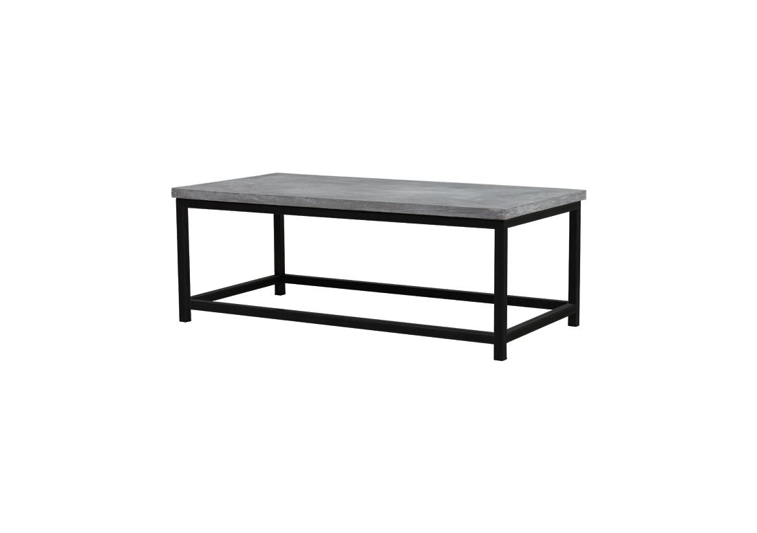 Verrassend Betonlook salontafel Lotus met ijzeren onderstel (-20%) | Bestel nu FD-84