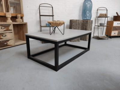 Betonlook salontafel Lotus
