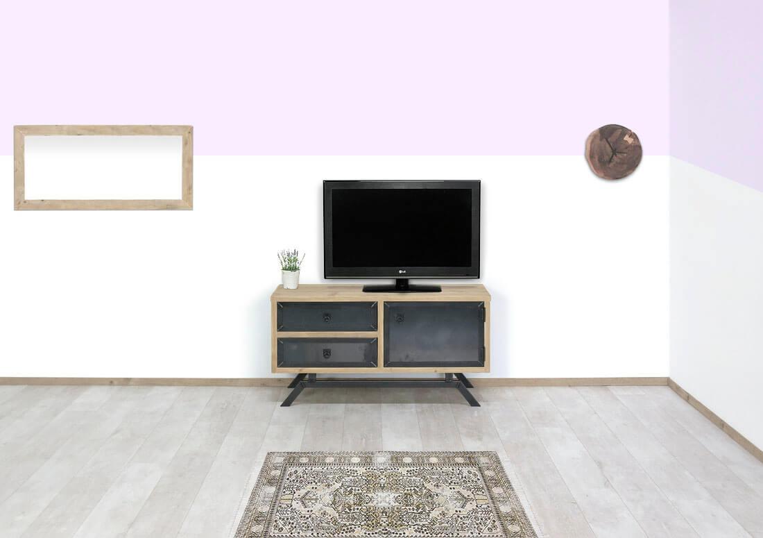 Steigerhouten TV meubel Vollin