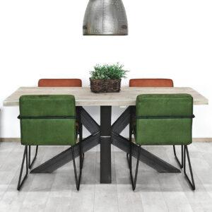 Steigerhouten tafel Cammal