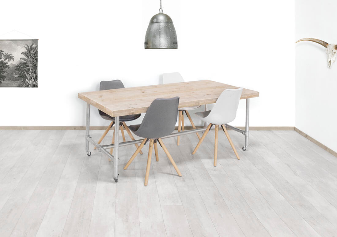 Steigerhouten tafel Hermon